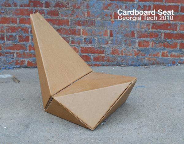 AIA Cardboard Seat