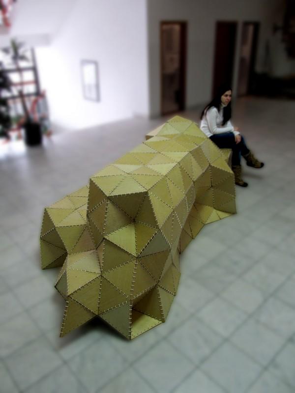 折り紙が作る広場