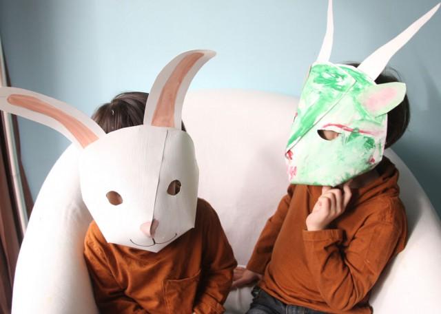 春の訪れを告げる動物マスク