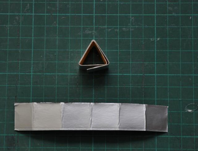 テトラパックで作るライト