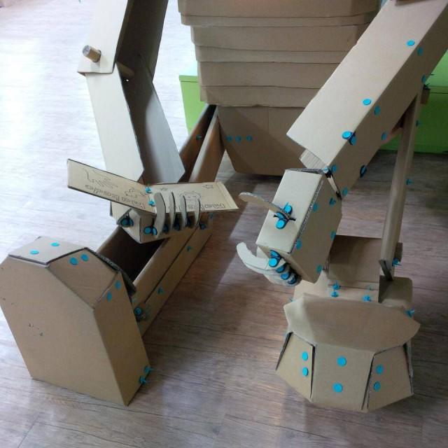 ジャイアントロボット出現